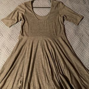 Dresses & Skirts - Urban Outfitters grey party dress